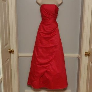 Red prom dress size 5/6